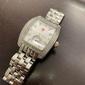 Michele Urban Mini Diamond Watch